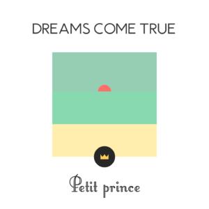 0 - Dreams come true - Petit prince (Artwork) - White -