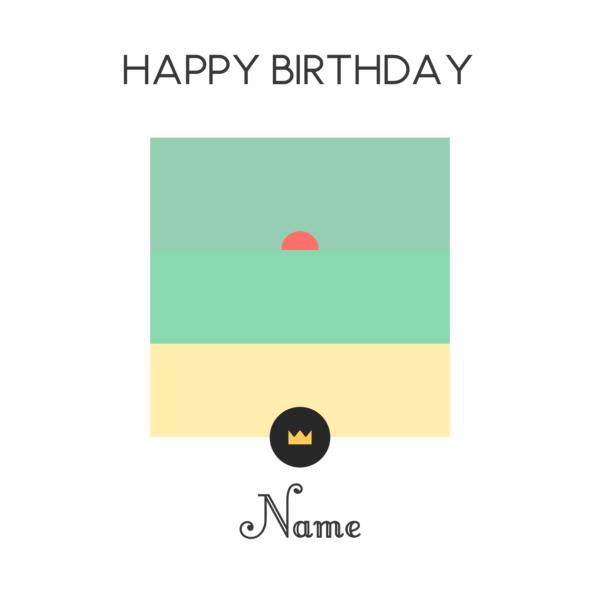 Le petit prince - Wish card