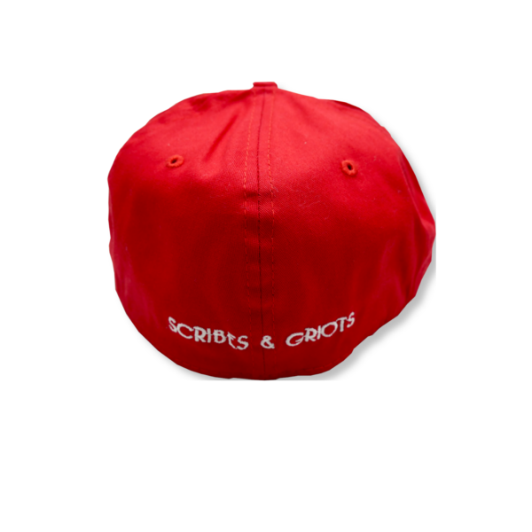 Original RED Cap by Scribes & Griots - New Era 39THIRTY - First Edition